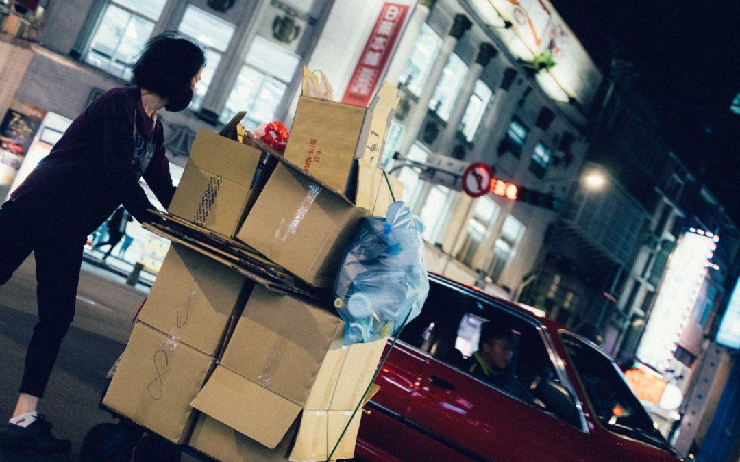 Cardboard Box Vs. Plastic Bin to Pack